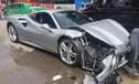Né chó qua đường, hai chiếc Ferrari 488 GTB gặp nạn nghiêm trọng tại Trung Quốc
