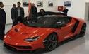 Đây là chiếc Lamborghini Centenario đầu tiên được giao cho khách
