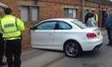 Hình ảnh vụ tai nạn của BMW 1-Series khiến nhiều người tưởng là