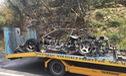 Ferrari F40 của nhà sưu tập bị cháy rụi khi đang trên đường tụ tập cùng LaFerrari Aperta