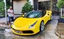 Ferrari 488 GTB của đại gia Hà Nội xuất hiện trong garage Cường