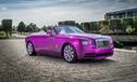 Diện kiến Rolls-Royce Dawn màu tím