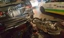 Gò Vấp: Honda Airblade tông mạnh vào đuôi xe Toyota Fortuner lúc nửa đêm