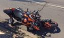 Phan Thiết: Không làm chủ được tốc độ, Kawasaki Z900 đâm vào dải phân cách, thiệt hại nặng
