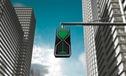 Đèn giao thông kiểu... đồng hồ cát