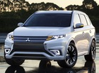 Mitsubishi Outlander phiên bản tiết kiệm nhiên liệu lộ diện