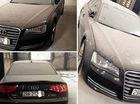 Xe tiền tỷ Audi A8L phủ bụi tại Việt Nam