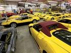 Bộ sưu tập siêu xe Ferrari màu vàng lớn nhất thế giới
