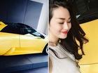 Người mẫu Khánh My khoe đặt mua siêu xe Lamborghini