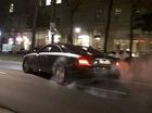 """Khi xe siêu sang Maybach 57S Coupe độc nhất vô nhị """"đốt lốp"""""""