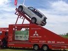 Xem Mitsubishi Pajero leo dốc 45 độ