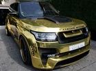 Dân chơi Ả-Rập mang Range Rover nổi bần bật đến thủ đô siêu xe