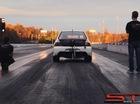 Mitsubishi Evo chinh phục 402 mét trong 8,09 giây