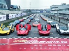"""Dàn """"quái vật"""" hùng hậu tại """"Ngày hội siêu xe"""" của Trung Quốc"""