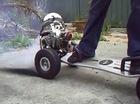 Ván trượt gắn động cơ 49cc đốt lốp