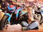 Biker 9X chia sẻ thú vui chơi xe phân khối lớn lạ đời