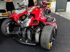 Diện kiến siêu môtô Lazareth Triazuma R1 độc nhất vô nhị tại Việt Nam