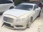 """Chú rể """"vỡ nợ"""" vì xe sang Bentley đi thuê bất ngờ bốc cháy"""