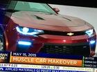 """Chevrolet Camaro 2016 lộ diện trước giờ """"G"""", giá không đổi"""