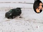 """Cô Kim """"siêu vòng ba"""" khóc thét khi xe thuê GMC Yukon gặp nạn"""