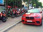 Gần 100 môtô tham gia đoàn đón dâu của biker Sài thành