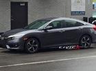 """""""Tóm gọn"""" Honda Civic 2016 trần trụi trên đường phố"""