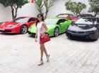 Hot girl Midu khoe khéo dàn xe tiền tỷ của chồng sắp cưới