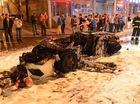 Lamborghini Gallardo mới về tay thiếu gia Trung Quốc đã cháy trơ khung