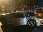Thiếu gia lái Lamborghini Huracan không biển đâm 8 xe