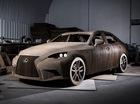 Xe sang Lexus IS làm bằng bìa các-tông, có thể chạy như bình thường