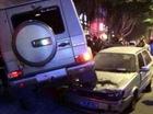 """""""Bợm rượu"""" lái Mercedes-Benz G55 AMG đâm vào 5 xe khác"""