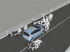 Mô phỏng diễn biến vụ tai nạn trên cầu vượt Thái Hà bằng video 3D