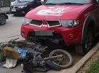 """Nóng trong ngày: Mitsubishi Triton đâm xe máy """"đi tắt"""""""