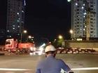 Xem cảnh siêu xe đầu kéo hơn 1 triệu USD chạy trên đường phố Hà Nội