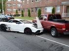 """Siêu xe Lamborghini Murcielago """"nhái"""" gây tai nạn liên hoàn"""