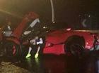 Đâm nát siêu xe Ferrari LaFerrari, thiếu gia vẫn thản nhiên như không