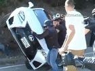 """""""Trẻ trâu"""" phá hỏng chiếc Lexus RC F mới toanh của bố"""