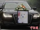 Nữ đại gia thuê xe sang Audi chở quan tài của cún cưng