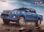 Xe bán tải Toyota Hilux 2016 bất ngờ lộ diện đầy đủ