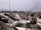 """Cận cảnh """"xác xe"""" trong vụ cháy nổ tại Thiên Tân"""
