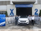 Đã có 4000 xe Hyundai SantaFe lắp ráp ở Việt Nam