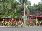 """Đoàn mô tô khủng dẫn đoàn với tông vàng """"chói lóa"""" ở Nha Trang"""