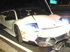 Siêu xe hiếm Lamborghini Murcielago SV số sàn gặp nạn