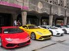 Dàn siêu xe khét tiếng tụ tập tại Thượng Hải, Trung Quốc