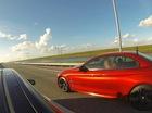 BMW M4 trở thành nạn nhân tiếp theo của Tesla Model S P85D trên đường đua
