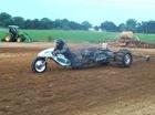"""Dàn """"siêu môtô"""" tranh tài tốc độ trên đường đua cát"""