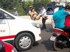Hai thanh niên lái xe tông gãy chân CSGT ở Sài Gòn