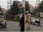Phú Thọ: Thầy giáo lái xe tải điên cuồng tông vào công an rồi bỏ chạy