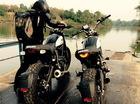 Johnny Trí Nguyễn và bạn gái Nhung Kate đổi màu cặp Ducati Scrambler