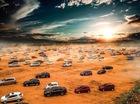 Kỷ lục xếp hình với hơn 500 xe của cộng đồng ô tô, xe máy Việt Nam
